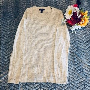 GAP Woman's Sweater Size Small Gray/Cream